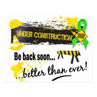 Under Construction Lymphoma Postcard