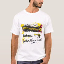 Under Construction Multiple Myeloma T-Shirt