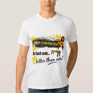 Under Construction Multiple Myeloma T Shirt