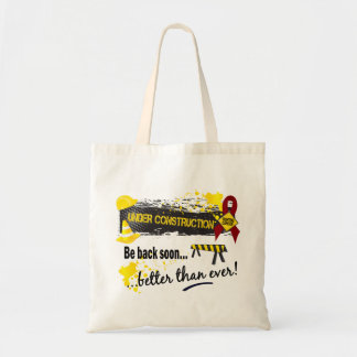 Under Construction Multiple Myeloma Tote Bag