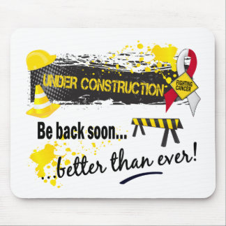 Under Construction Oral Cancer Mouse Pad