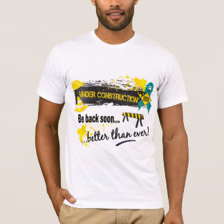 Under Construction Ovarian Cancer T-Shirt