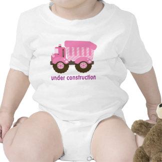 Under Construction Pink Truck Shirts