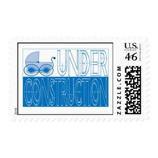 Under Construction Postage Stamp