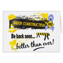 Under Construction Prostate Cancer Card