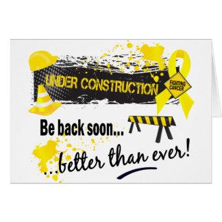 Under Construction Sarcoma Card