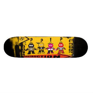 Under Construction Skateboard Deck