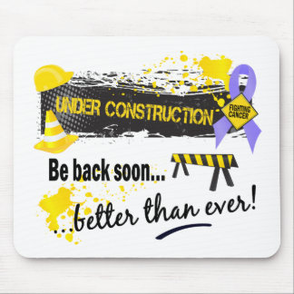 Under Construction Stomach Cancer Mouse Pad