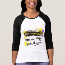 Under Construction Stomach Cancer T-Shirt