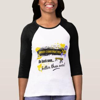 Under Construction Stomach Cancer T-Shirt