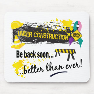 Under Construction Thyroid Cancer Mouse Pad