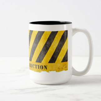 Under Construction Two-Tone Coffee Mug