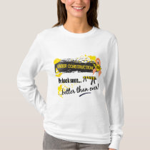 Under Construction Uterine Cancer T-Shirt