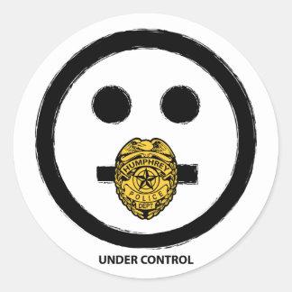 """""""Under Control"""" - Sticker"""