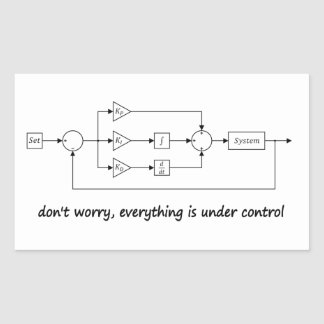 Under Control Stickers