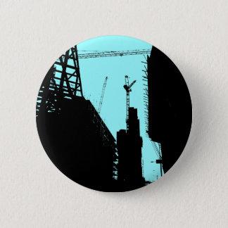 Under Contruction - Blue Pinback Button