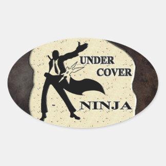 UNDER COVER NINJA STICKERS