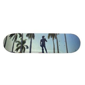 Under Davids Watch Custom Skate Board