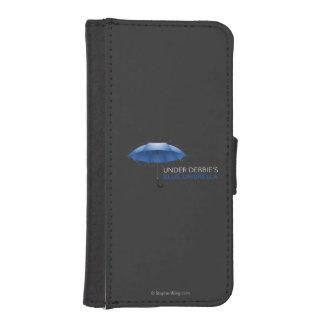 Under Debbie's Blue Umbrella iPhone SE/5/5s Wallet Case