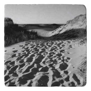 Beach Themed Under-dish, photograph of beach trivet