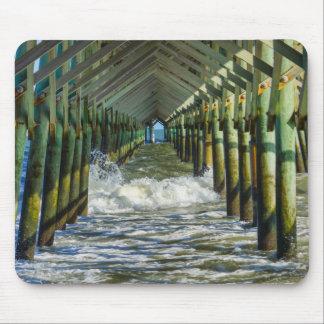Under Folly Beach Pier Mouse Pad