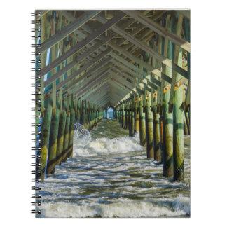 Under Folly Beach Pier Notebook