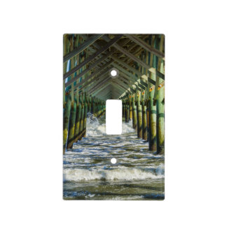 Under Folly Beach Pier Switch Plate Cover