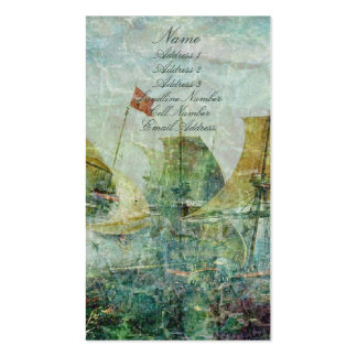 Under Full Sail Business Card