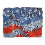 Under God Postcard