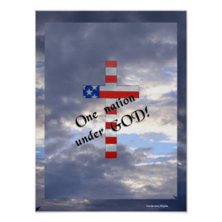 Under God, sky Posters