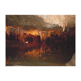 Under Ground In Luray VA. Canvas Print