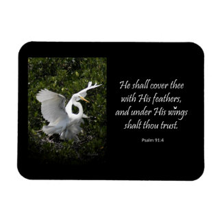 Under His Wings Magnet Rectangle Magnet