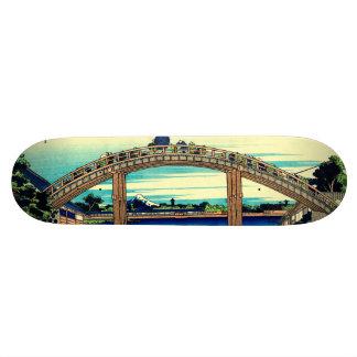 Under Mannen Bridge at Fukagawa Skateboard Deck