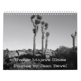 Under Mojave Skies ... Calendar