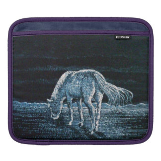 `Under Moon Horse' Rickshaw ipad Sleeve