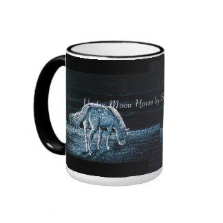 Under Moon Horse Ringer Mug