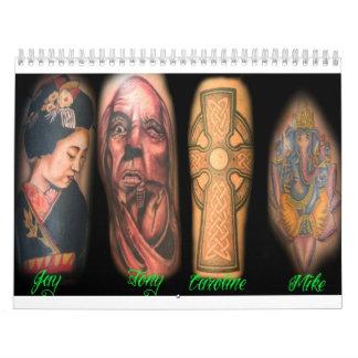 under my skin calander calendar