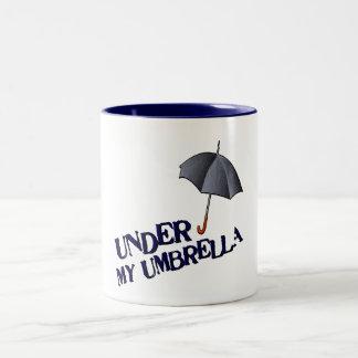 Under My Umbrella-Mug Two-Tone Coffee Mug