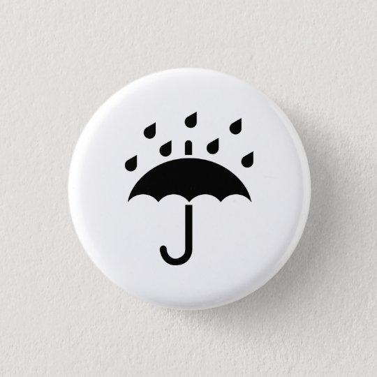 'Under My Umbrella' Pictogram Button
