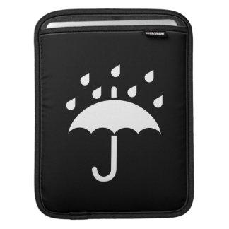 Under My Umbrella Pictogram iPad Sleeve