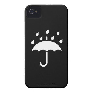 Under My Umbrella Pictogram iPhone 4 Case