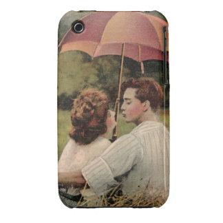 Under My Umbrella Retro iphone Cover