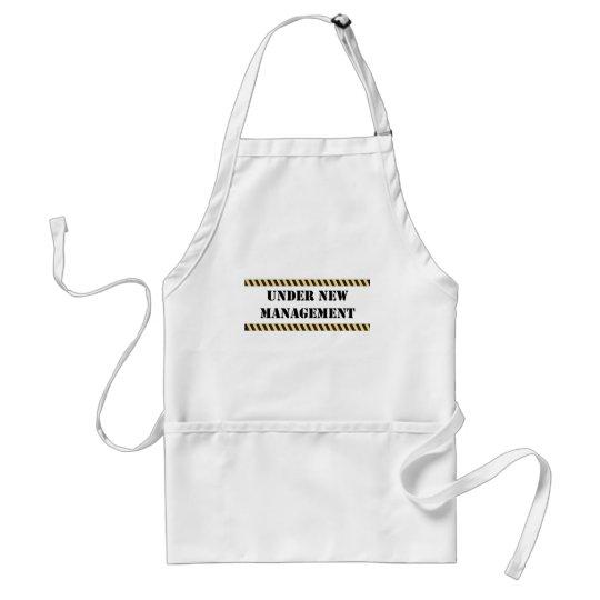 under new management adult apron