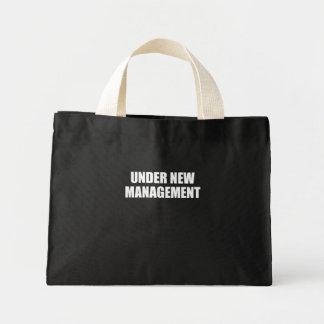UNDER NEW MANAGEMENT CANVAS BAG
