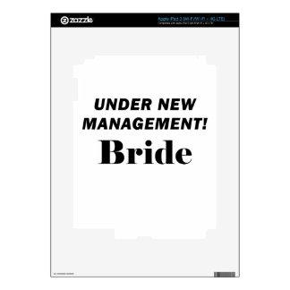 Under New Management Bride Skin For iPad 3