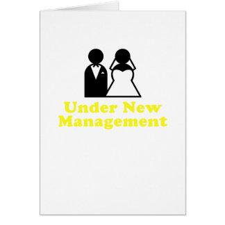 Under New Management Card