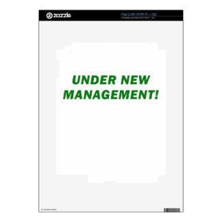Under New Management iPad 2 Skin