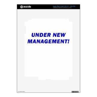Under New Management iPad 3 Skin