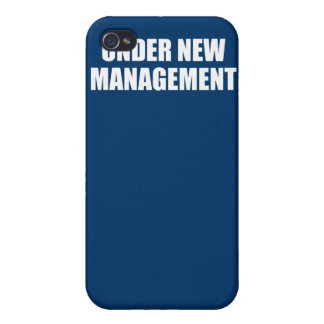 UNDER NEW MANAGEMENT COVERS FOR iPhone 4