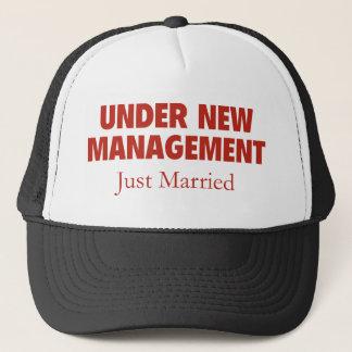 Under New Management. Just Married. Trucker Hat